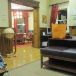 a view of the quiet room from the common area