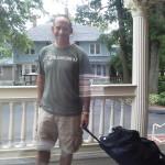 ReeeeeUniteeeed.... Just got his suitcase delivered. Very happy man!