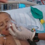 first shot without his breathing tube