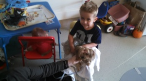 Pet Therapy with Sammy